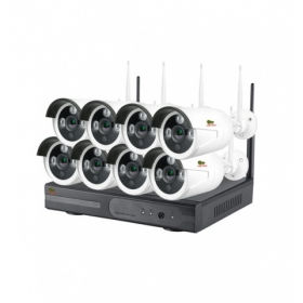 Комплект IP Partizan Outdoor Wireless Kit 2MP 8xIP v1.1